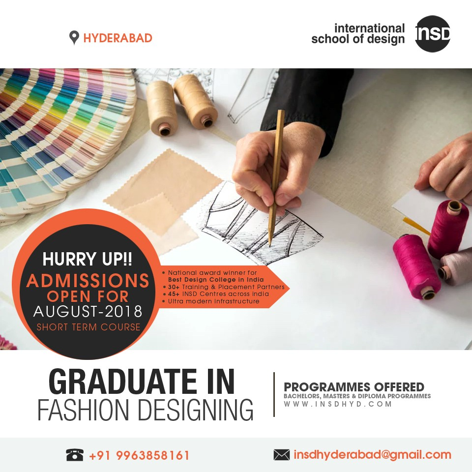Fashion Design Courses In Hyderabad By Insd Hyd Medium