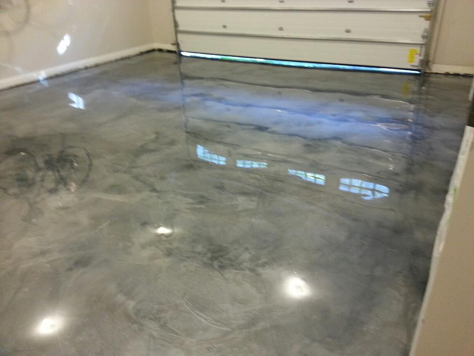 Concrete Garage Epoxy Floor