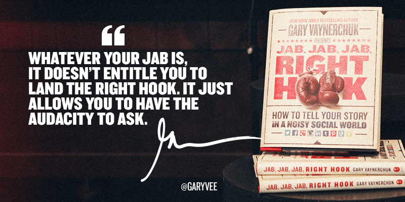 Book Review Jab Jab Jab Right Hook How To Tell Your Story In A