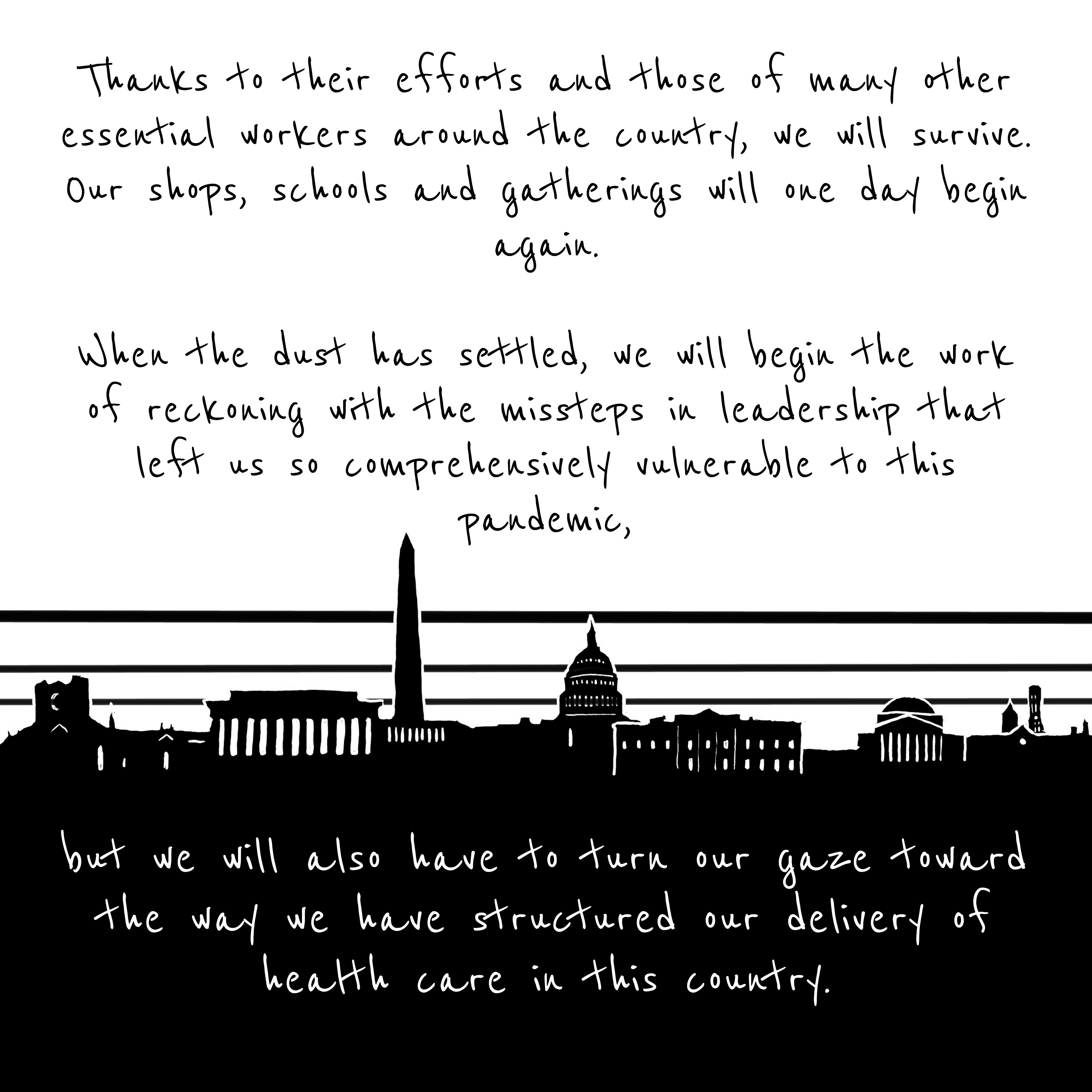D.C. Skyline—When the dust has settled, we will have to reckon with the missteps that left us so vulnerable.