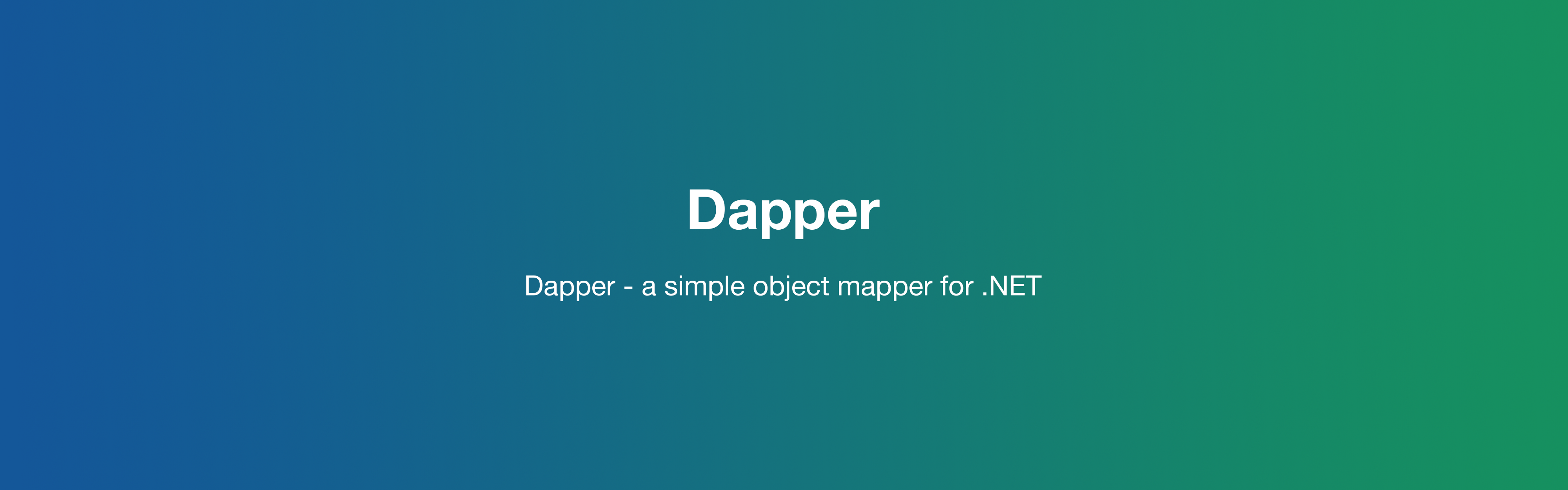 Dapper Using Lists - ITNEXT