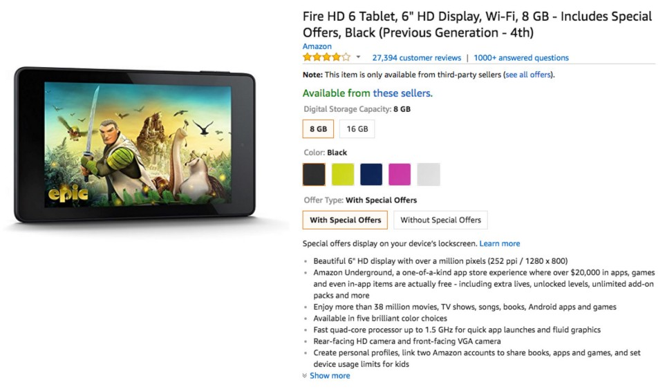 How to use the Amazon Fire Tablet as a Meeting Room Display