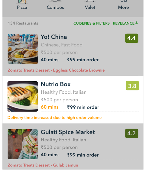 Building an app for restaurant managers to receive online orders