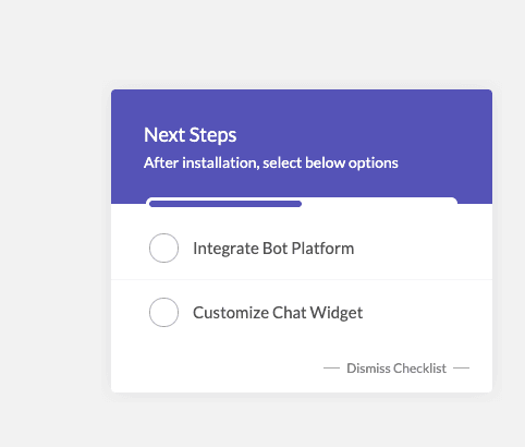 onboarding checklist template cue created in Userpilot