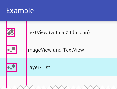 Simplifying layouts with layer-list drawables - AndroidPub