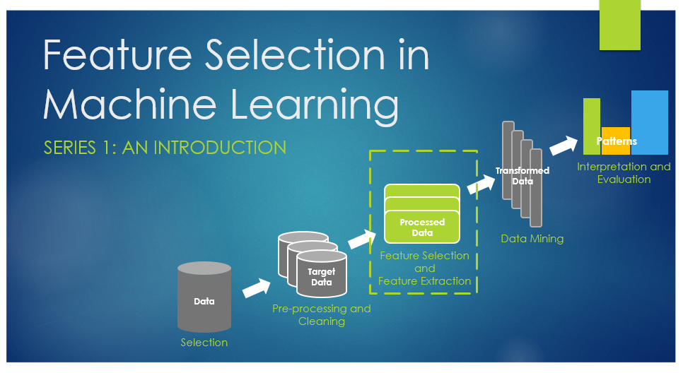 Feature Selection and Feature Extraction in Machine Learning