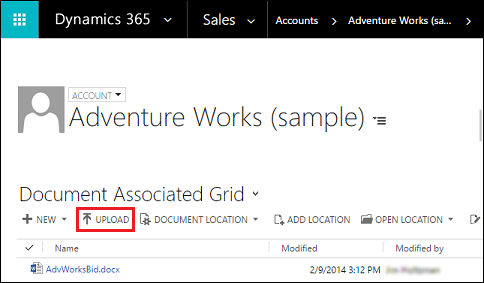 Dynamics 365 (CE) out of the box integration with SharePoint
