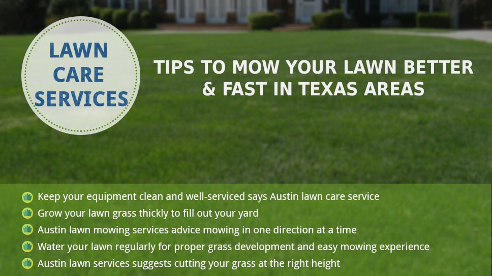 Lawn Care Services Tips To Mow Your Better And Fast
