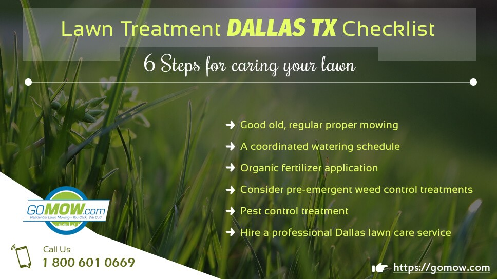 Lawn Treatment Dallas Tx Checklist 6
