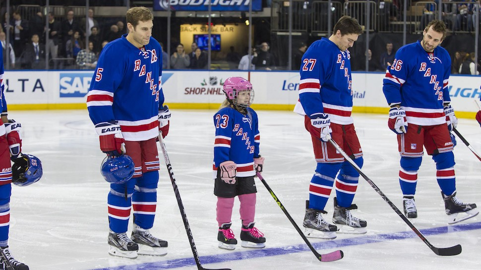 watch 307e5 aec74 Meet the 7 Year Old Who Was Signed to the New York Rangers