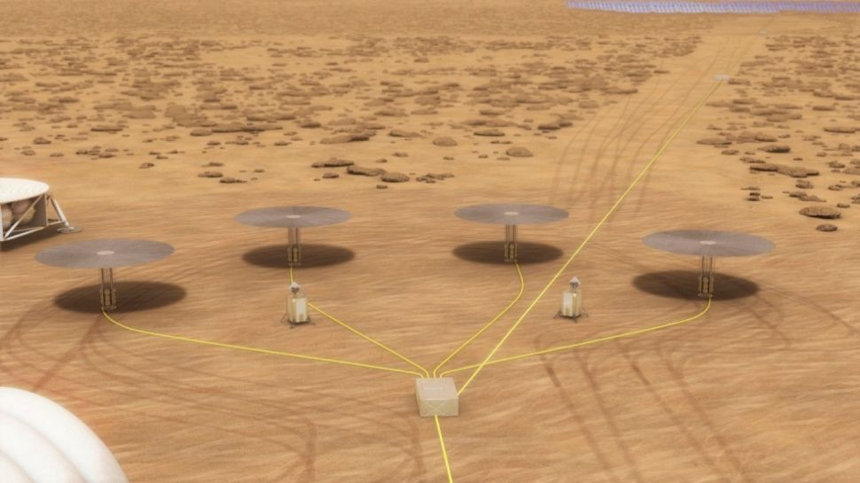 How a Small Nuclear Reactor Could Power a Colony on Mars or