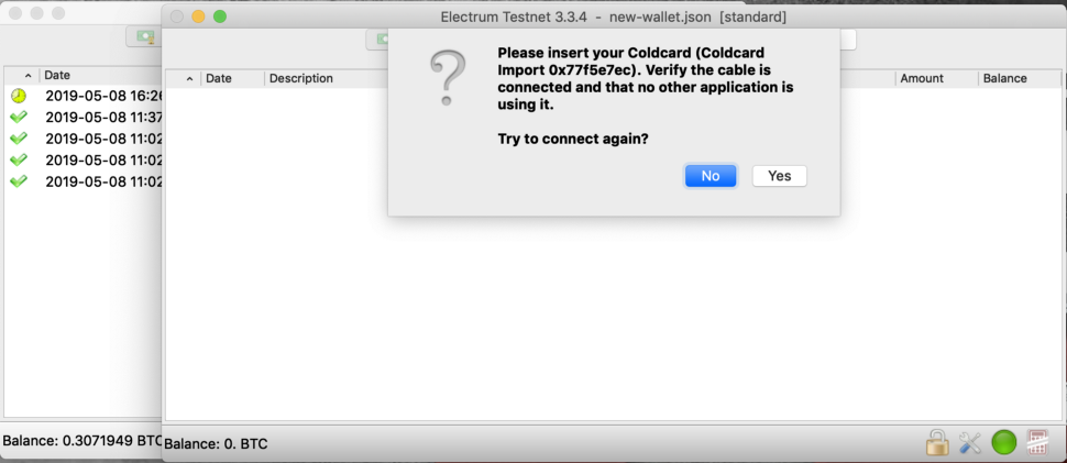 How to Make Offline Transactions in Electrum With Coldcard Wallet