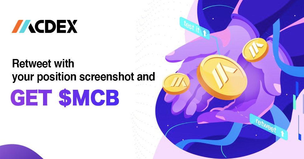 MCDEX Share & RT Campaign Update
