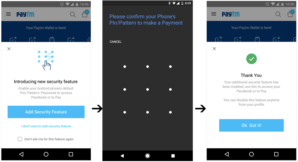 Now add an App password to your Paytm Wallet - Paytm Blog