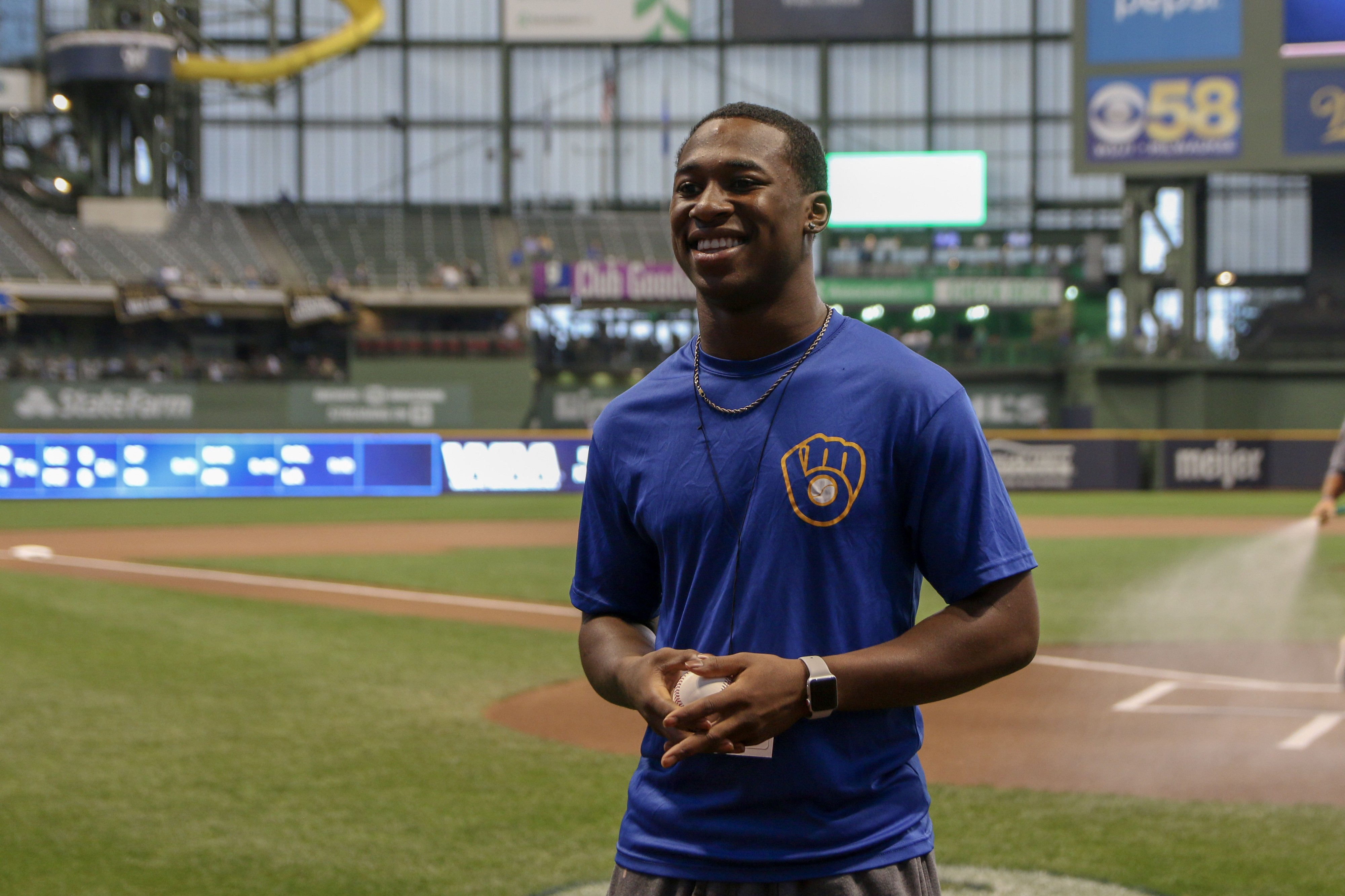 Congratulations To Brewers Rbi Athlete Amaun Williams By Caitlin Moyer Cait Covers The Bases