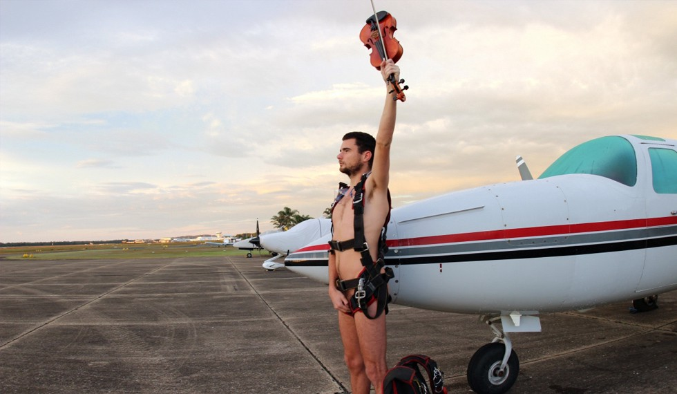 Crack mob of naked skydivers to drop from our skies