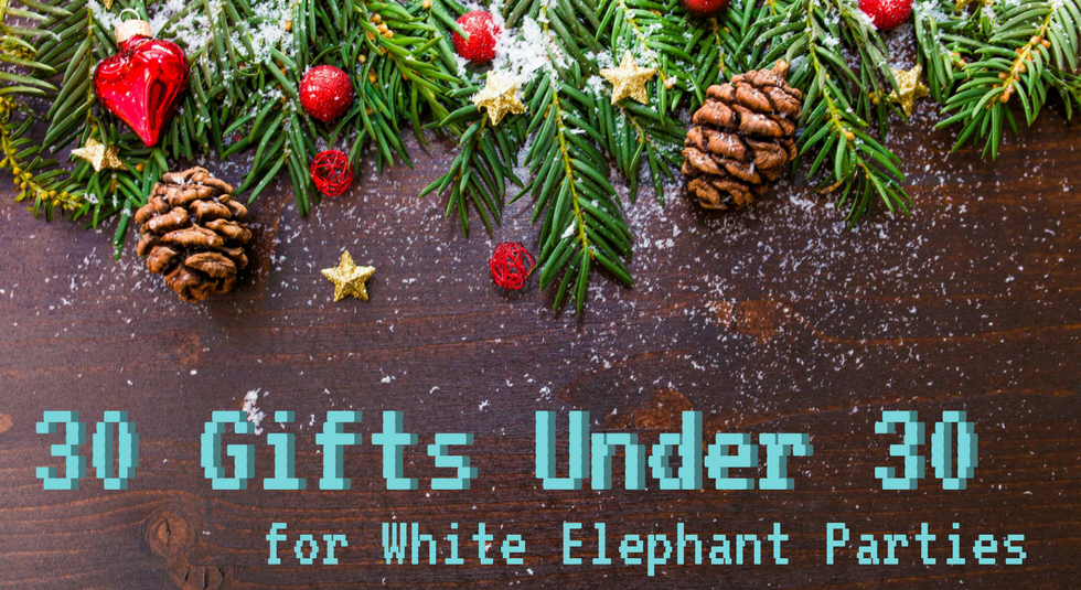 30 Gifts Under 30 For White Elephant Parties By The Chic Geek The Chic Geek Medium