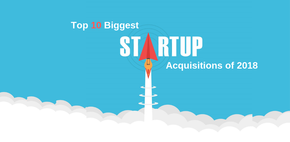 Top 10 Biggest Startup Acquisitions Of 2018 By Jaymine Shah Techcompose Medium