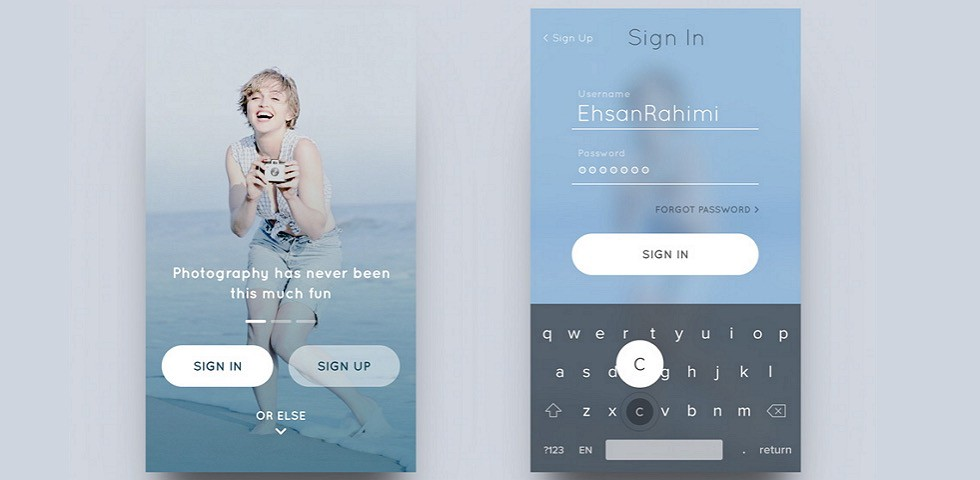 Ios Design Patterns Top 12 Mobile App Ui Design Inspirations By Annie Dai Muzli Design Inspiration