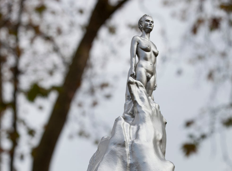 A photograph of the new London statue honouring Mary Wollstonecraft