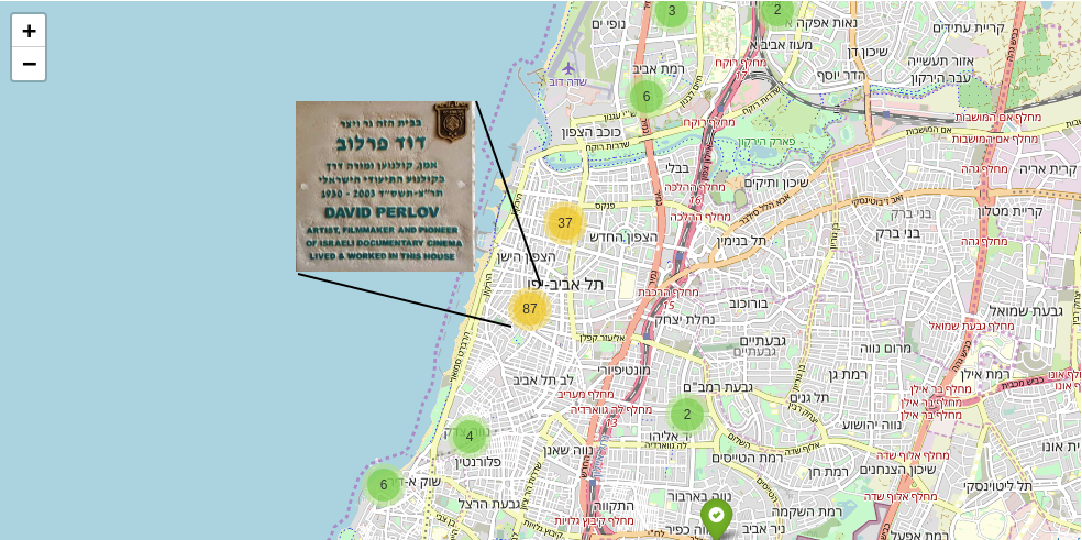 Tel Aviv artists: build yourself a mapping app - Towards
