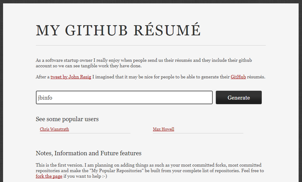 Github Contributions Resume Builder - Lhassan BAAZZI - Medium