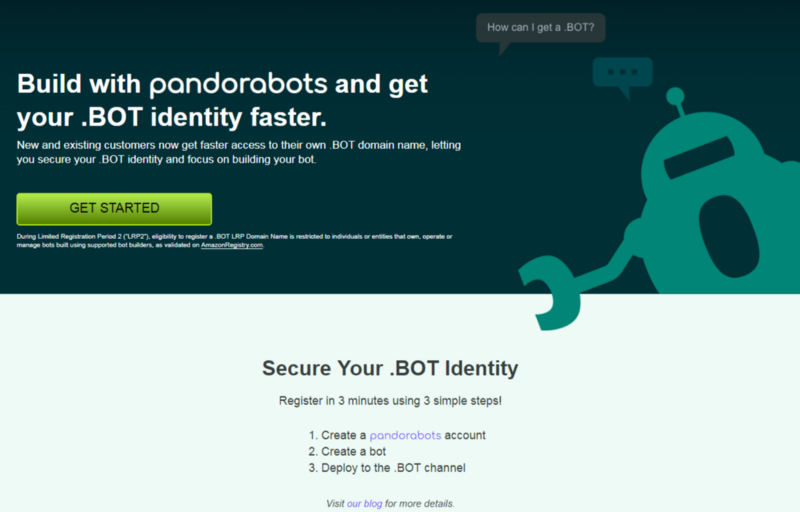 How to Register your  BOT Domain via Pandorabots - pandorabots-blog