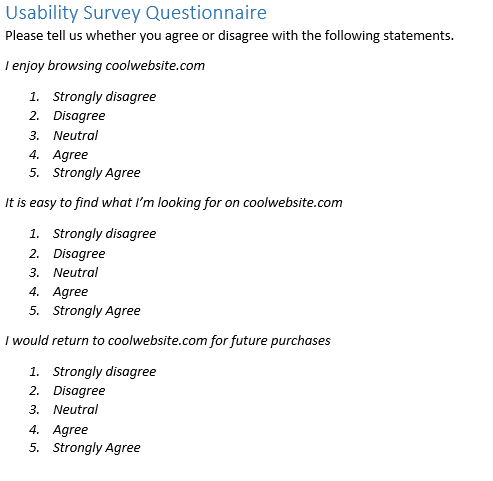 Four Steps To Designing Insightful and Impactful Surveys
