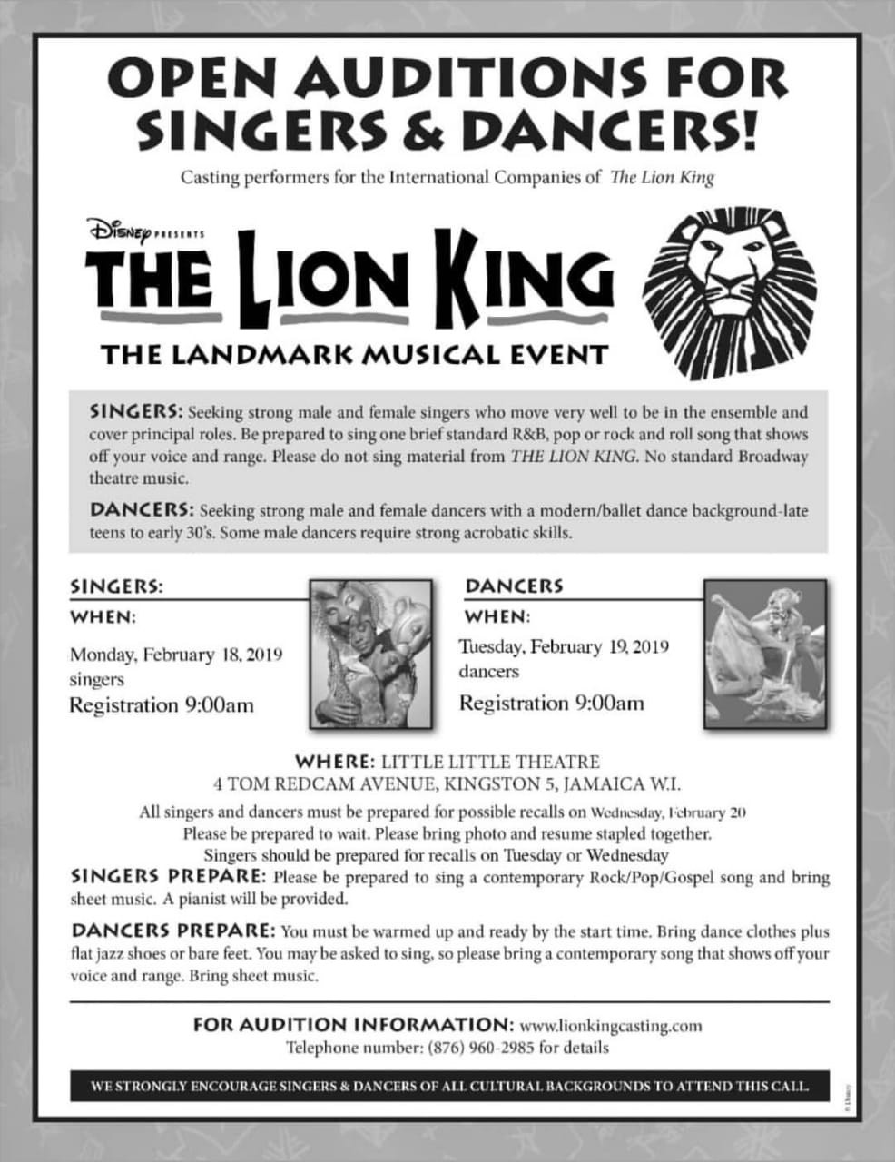 MEOnMusic: I Auditioned for The Lion King Broadway