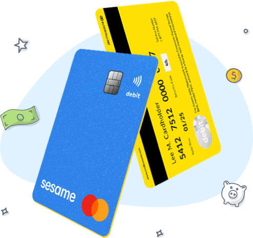 Credit Sesame Cash debit card