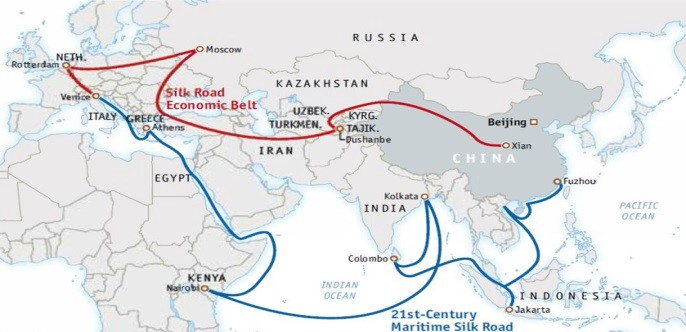 Image result for belt road initiative