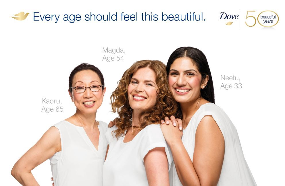 Dove, a truly authentic brand