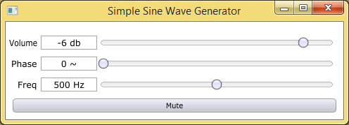 Part 1  Let's write a simple sine wave generator with C++