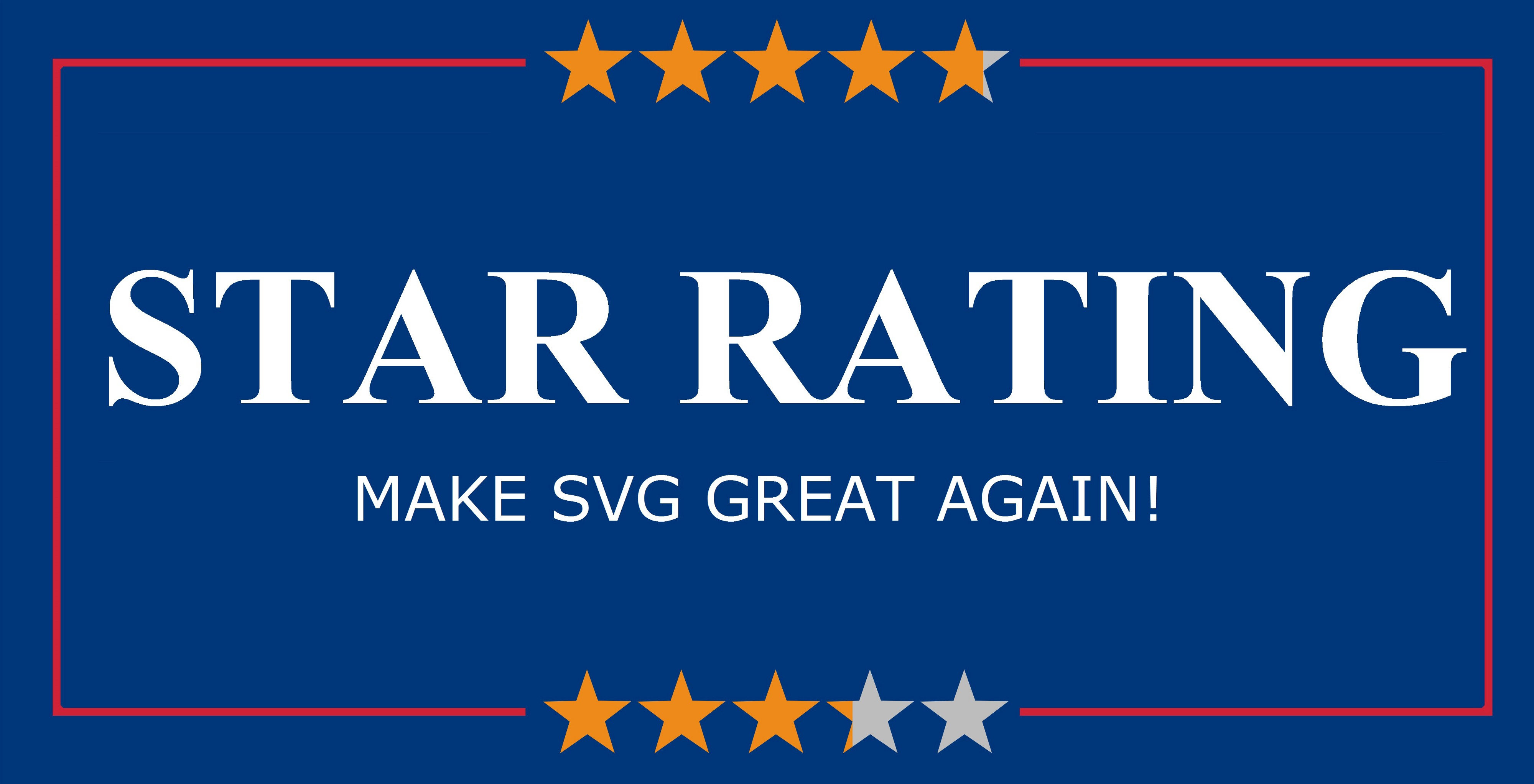 Star Rating — Make SVG Great Again - UX Collective