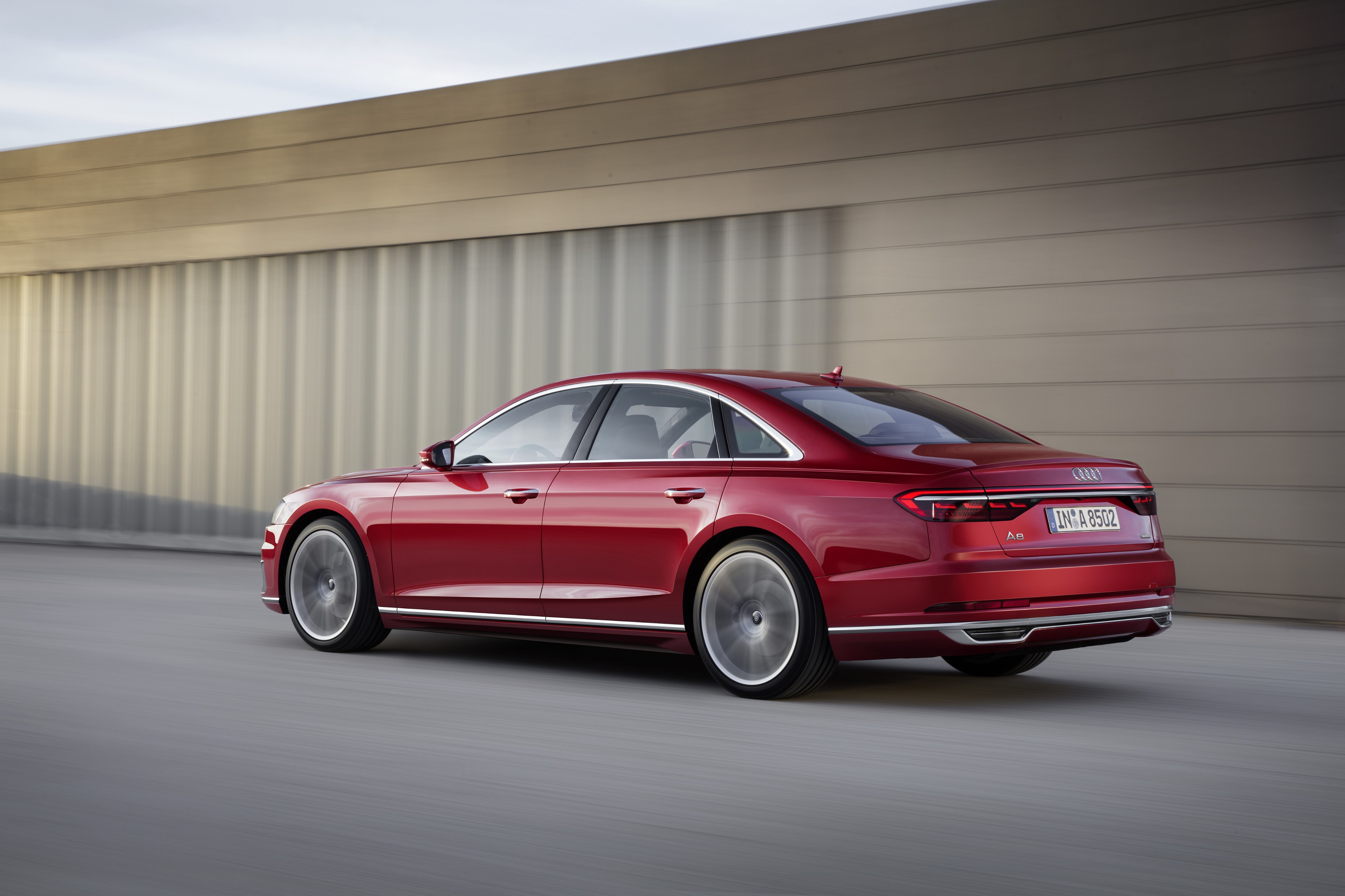 New Audi A8 : Entrepreneurs will laugh when they will see