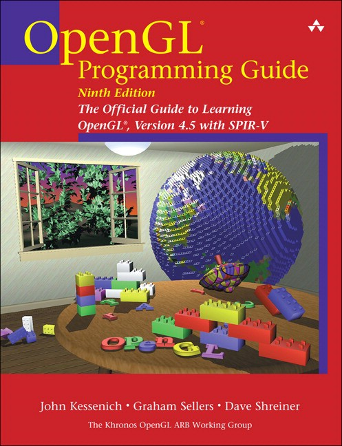 Cover shot of the The OpenGL® Programming Guide (the 'Red Book')