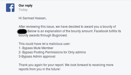 Bypass Admin approval, Mute Member and Posting Permissions