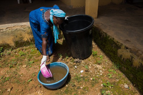 Delivering health for all with taps and toilets in Nigeria's
