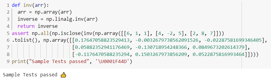 Implementation of.isclose() function   numpy