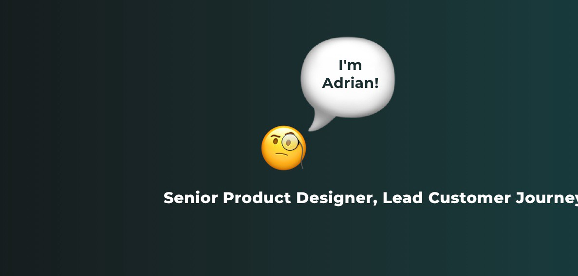 senior product designer with a long job title.