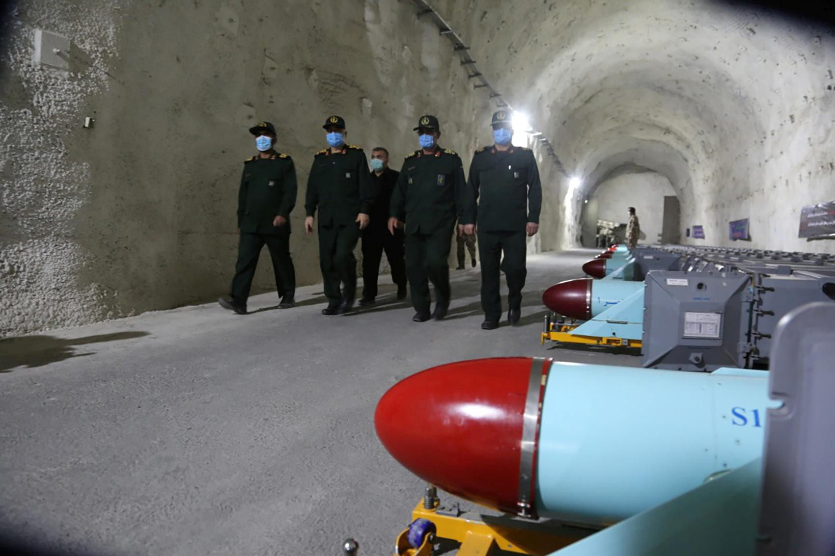 Iran Defence News   Iran's Revolutionary Guards unveil underground missile base in Gulf