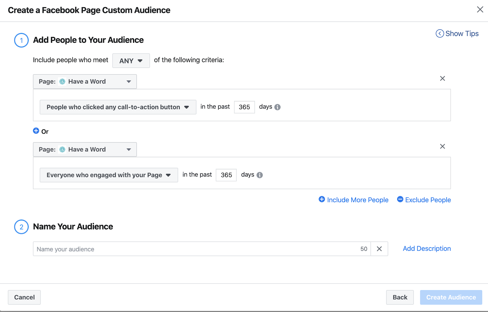 Facebook advertising for conversational commerce 3