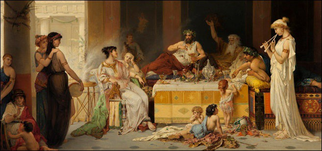 10 Amazing Facts About The Ancient Roman Dinner Parties By Bhavna Narula Lessons From History Medium