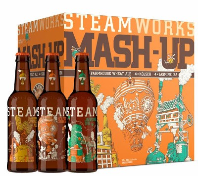 Brewery Release: BC: Get It Now … Steamworks Summer Mash-Up