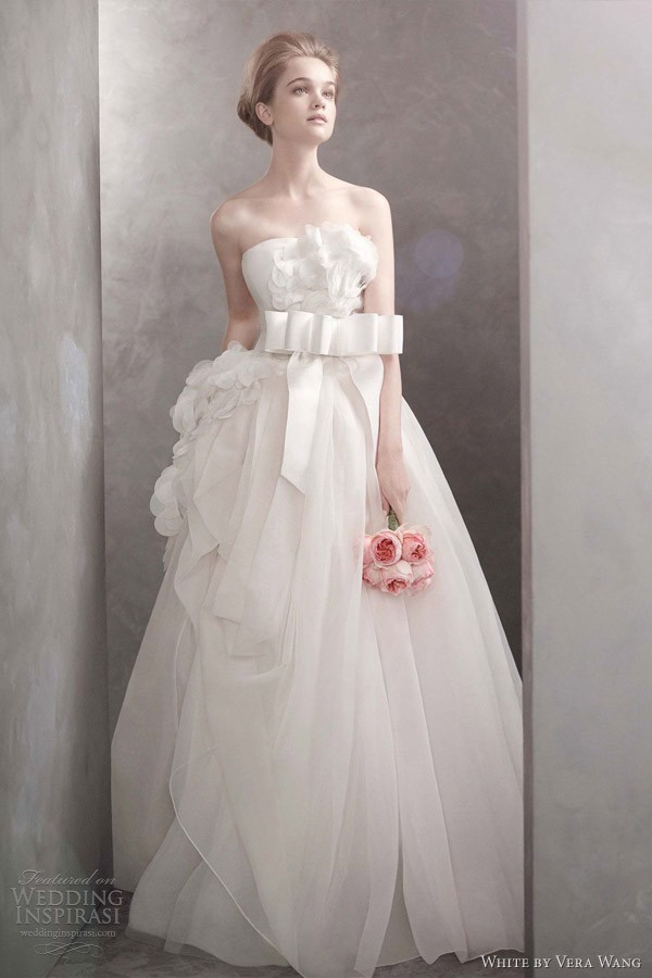 White By Vera Wang Spring 2012 Wedding Dresses By Luxuryprom Medium,Reception Indian Wedding Dress For Brides Father
