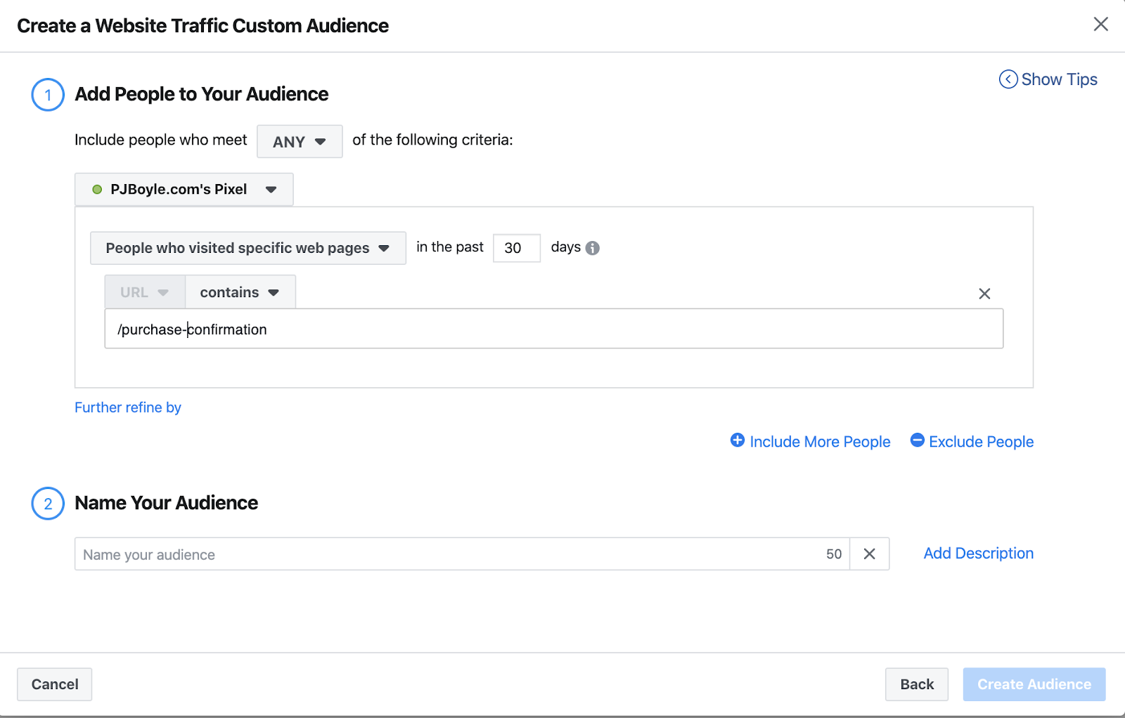 Facebook ads custom audience lookalike