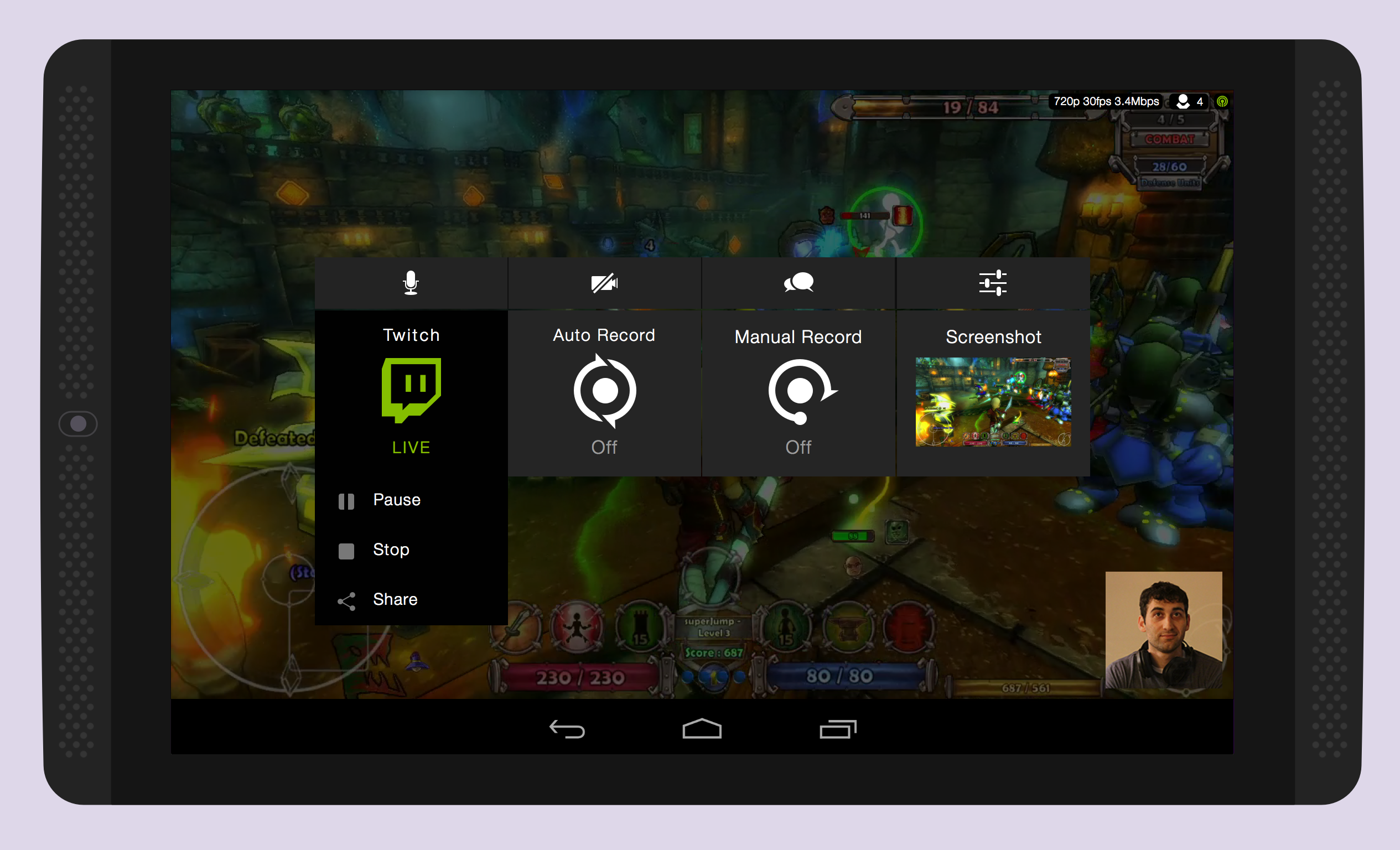 Twitch Broadcasting Comes to the NVIDIA SHIELD Tablet
