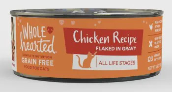 WholeHearted All Life Stages Canned Cat Food - Grain Free Chicken Recipe