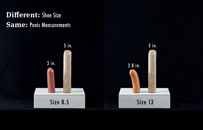 Real dick size