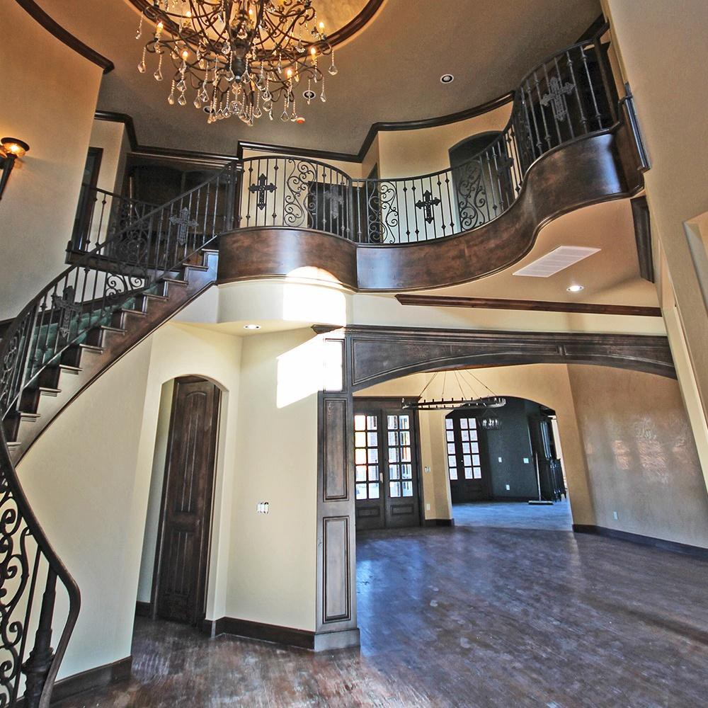 Balcony Rim by Archways and Ceilings